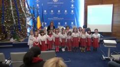 """Conferință de presă cu prilejul finalizării proiectului """"Centru de contact și suport al cetățenilor români din străinătate"""""""