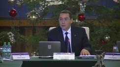 Ședința Guvernului României din 17 decembrie 2014 (imagini protocolare)