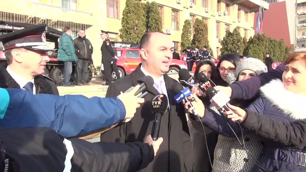 Declarațiile președintelui Consiliului Județean Iași, Cristian Adomniței