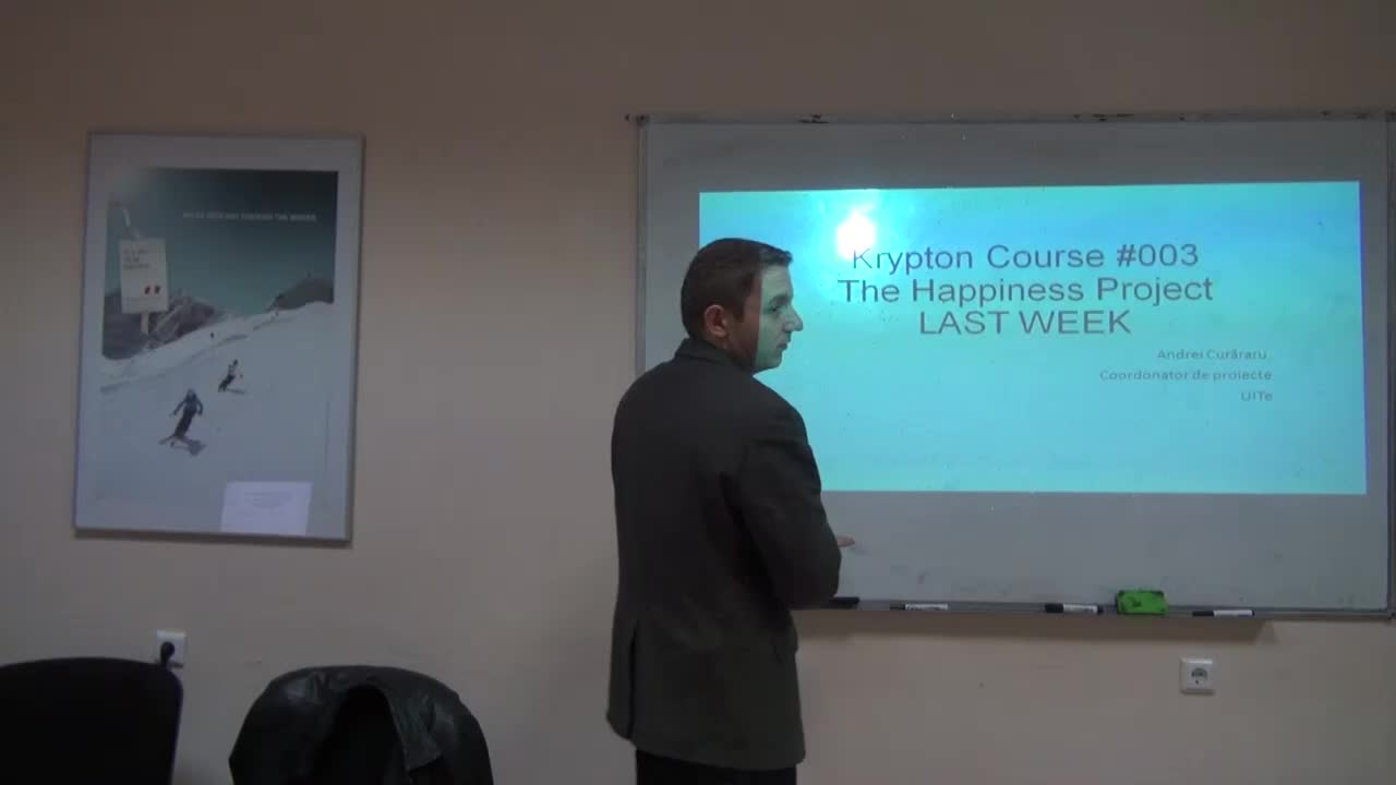 Krypton Course #003, Happiness, Training 3