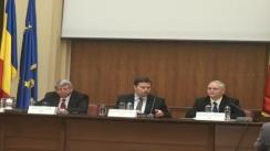 Conferință de presă pentru prezentarea concluziilor misiunii de evaluare a Fondului Monetar Internațional, Comisiei Europene și Băncii Mondiale