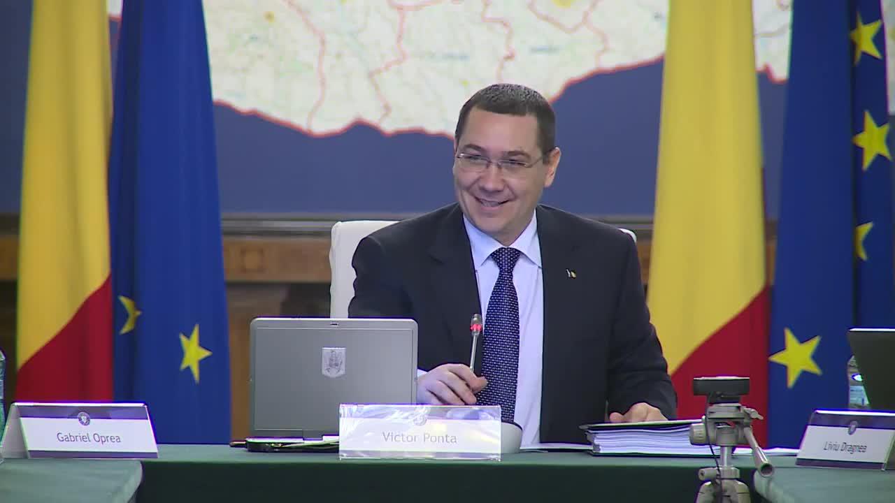Ședința Guvernului României din 21 ianuarie 2015 (imagini protocolare)