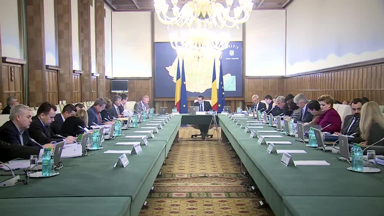 Ședința Guvernului României din 28 ianuarie 2015 (imagini protocolare)