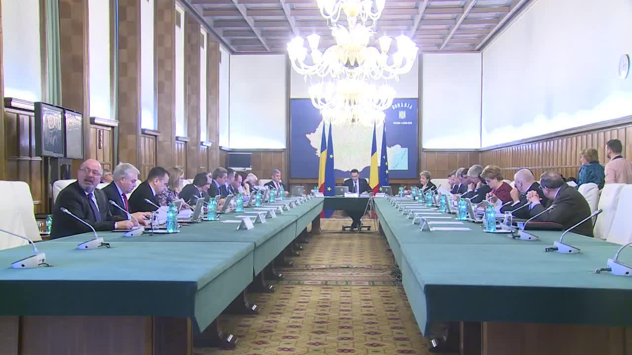 Ședința Guvernului României din 4 februarie 2015 (imagini protocolare)