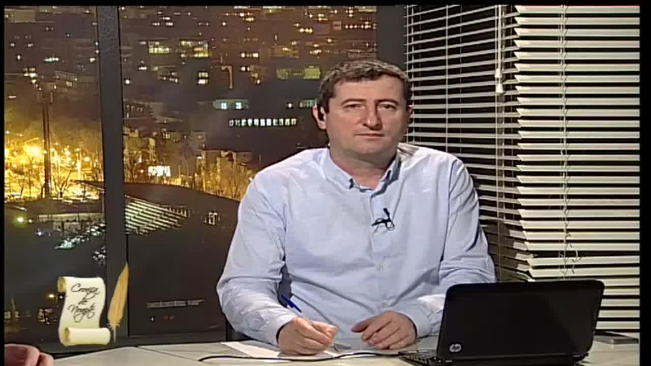 """Emisiunea """"Cronica de noapte"""", cu Grigore Cartianu"""