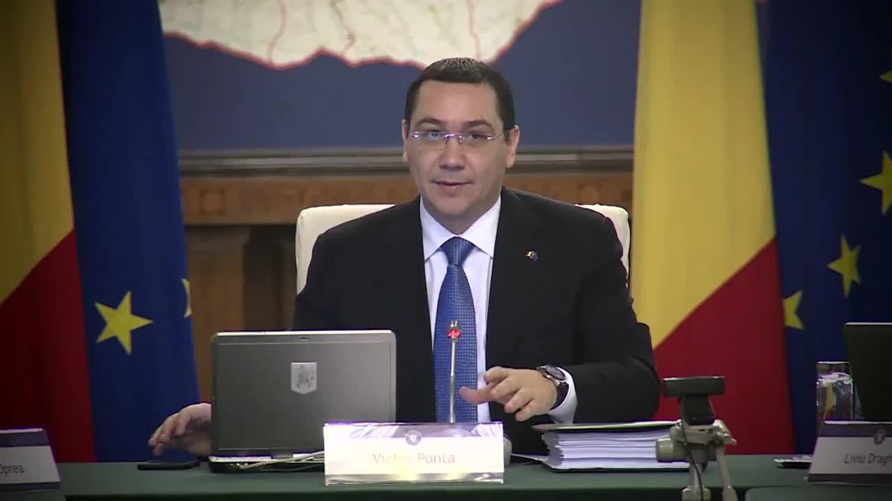 Ședința Guvernului României din 10 februarie 2015 (imagini protocolare)
