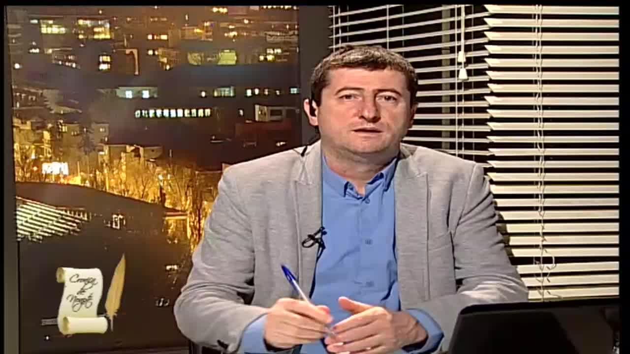 """Emisiunea """"Cronica de noapte"""" cu Grigore Cartianu"""