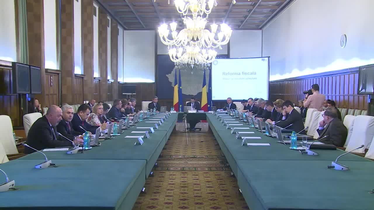 Ședința Guvernului României din 18 februarie 2015 (imagini protocolare)
