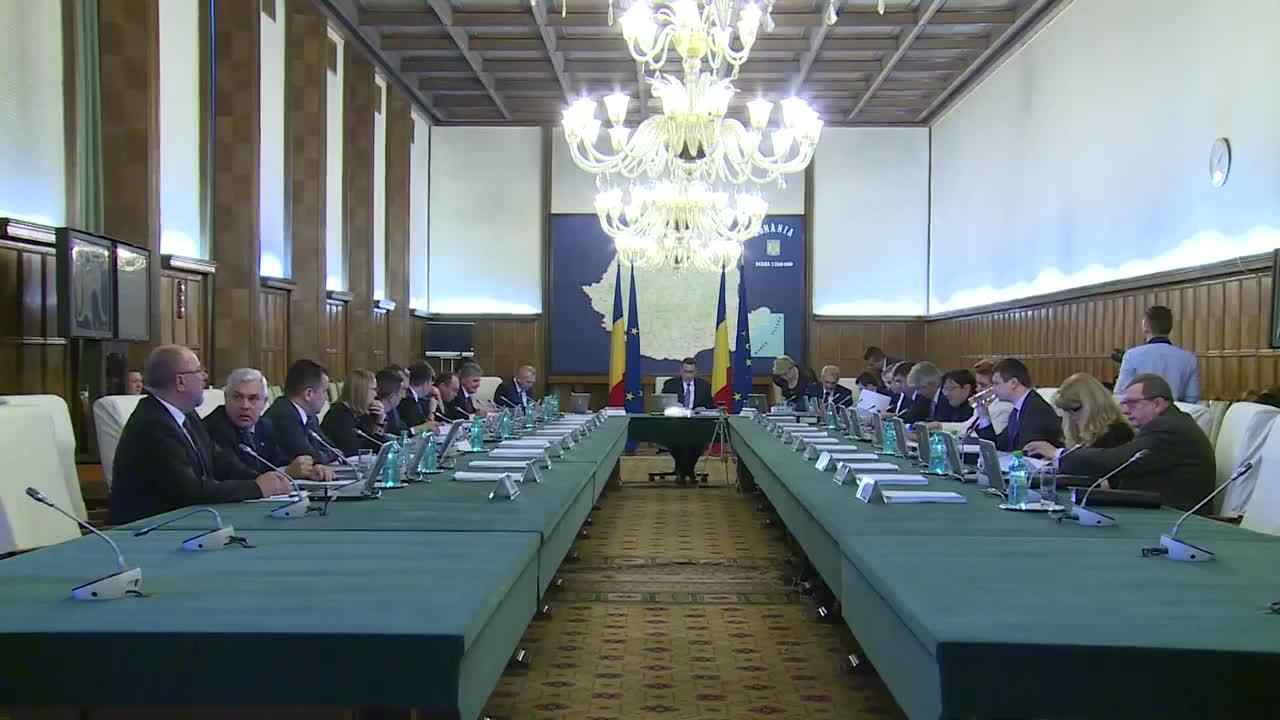 Ședința Guvernului României din 4 martie 2015 (imagini protocolare)