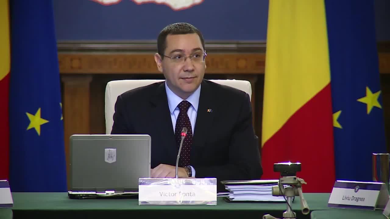 Ședința Guvernului României din 11 martie 2015 (imagini protocolare)