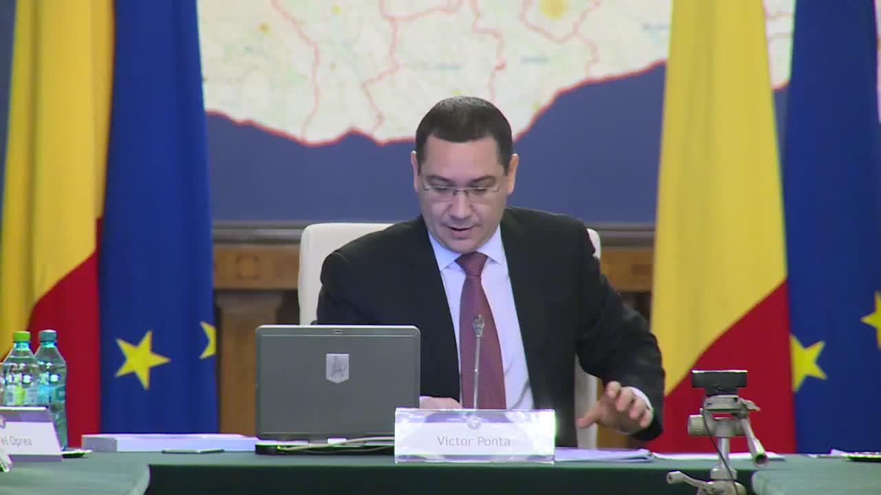 Ședința Guvernului României din 19 martie 2015 (imagini protocolare)