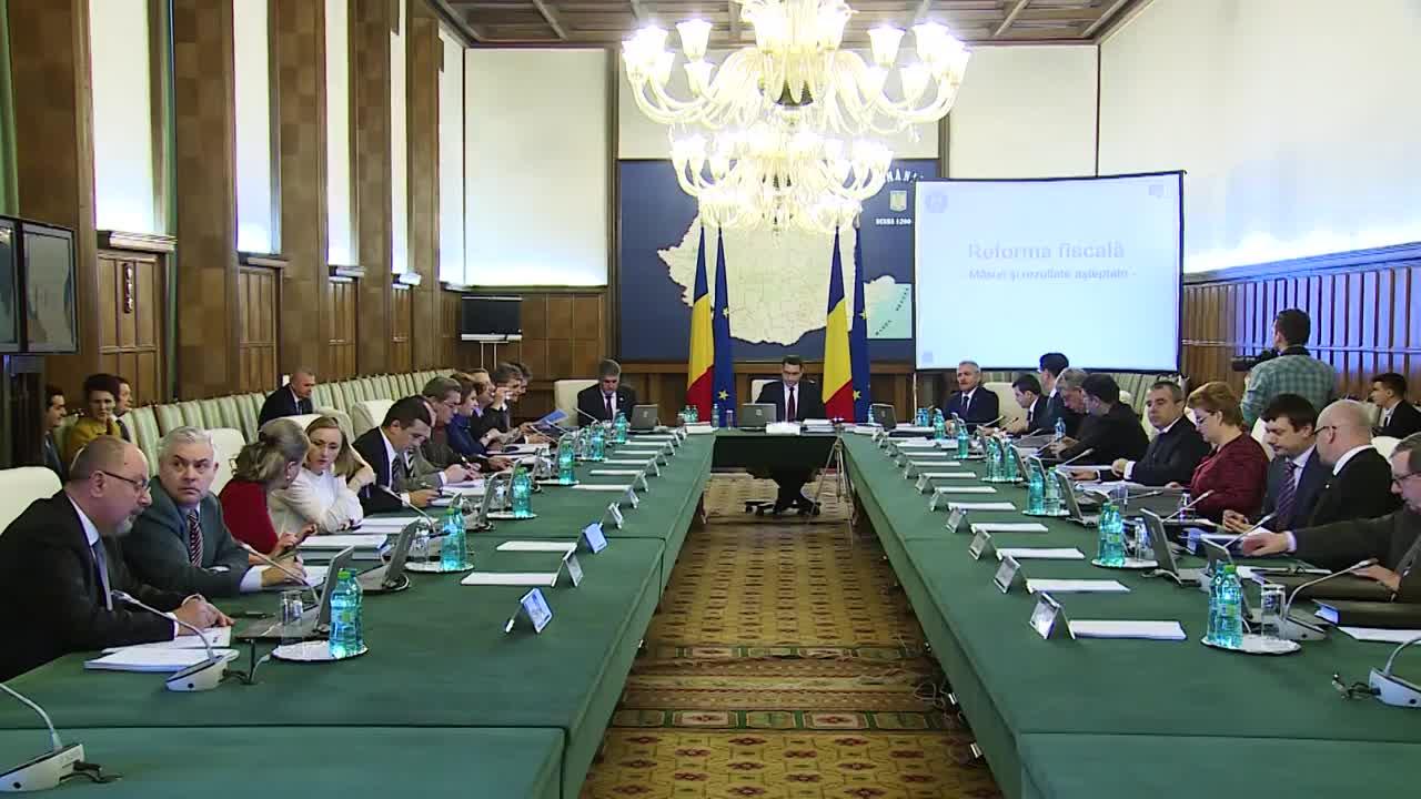 Ședința Guvernului României din 25 martie 2015 (imagini protocolare)