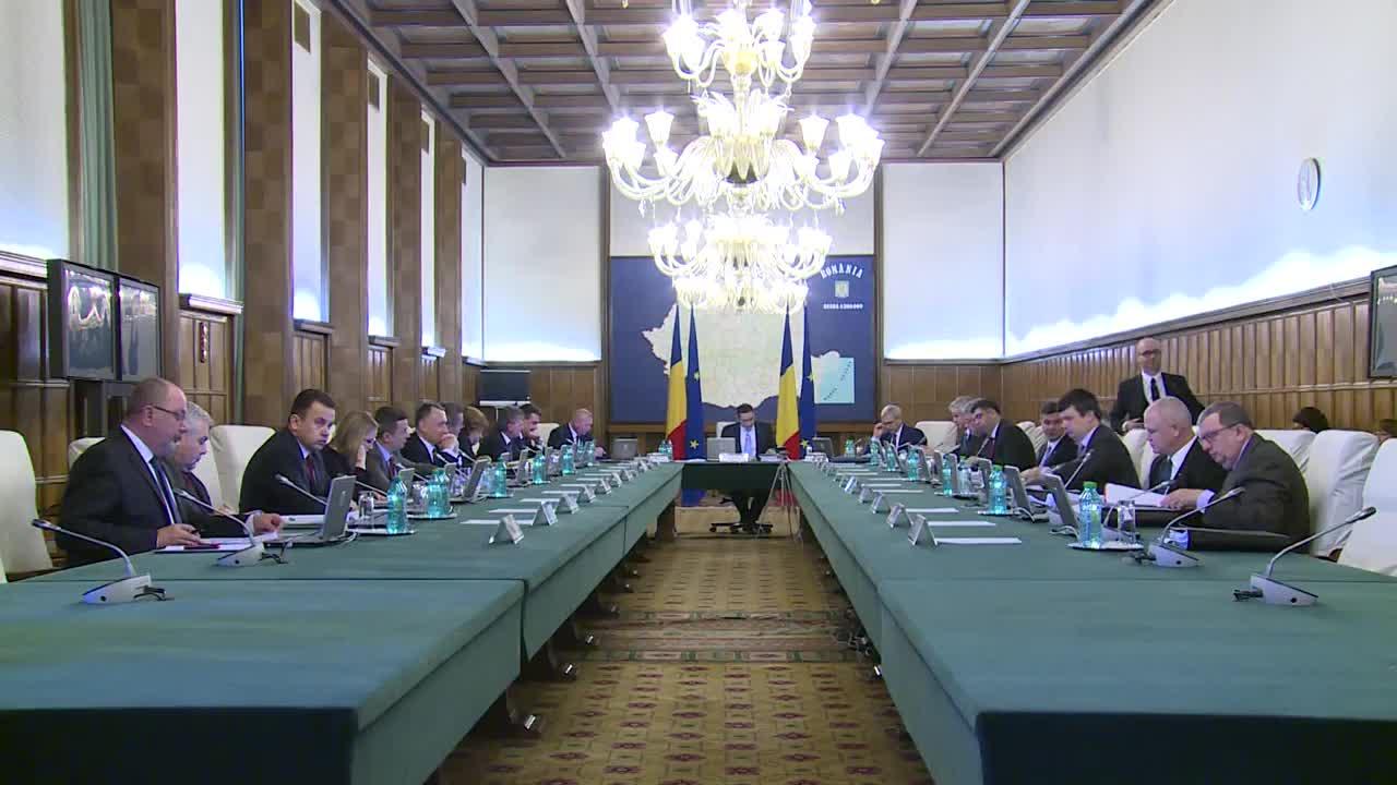 Ședința Guvernului României din 2 aprilie 2015 (imagini protocolare)