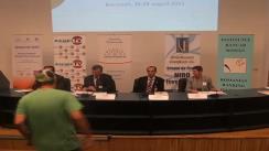 """Conferință de presă organizată de Asociația Profesională """"Colegiul Mediatorilor"""" în parteneriat cu Asociația de Mediatori din Domeniul Financiar Bancar"""