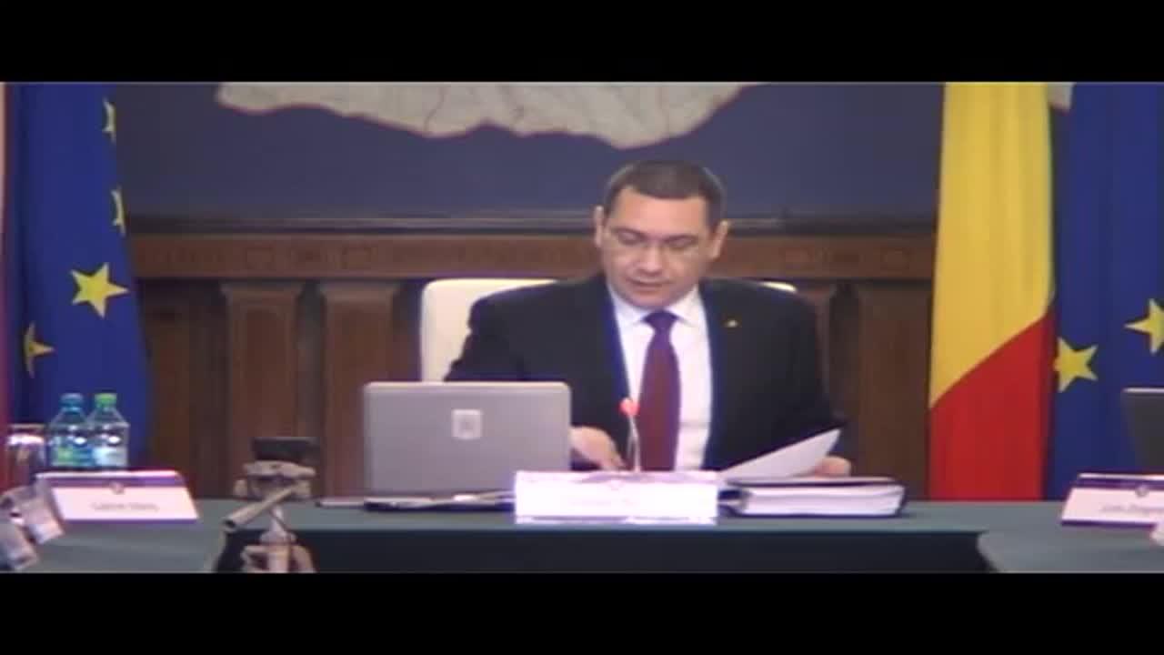 Ședința Guvernului României din 7 aprilie 2015 (imagini protocolare)