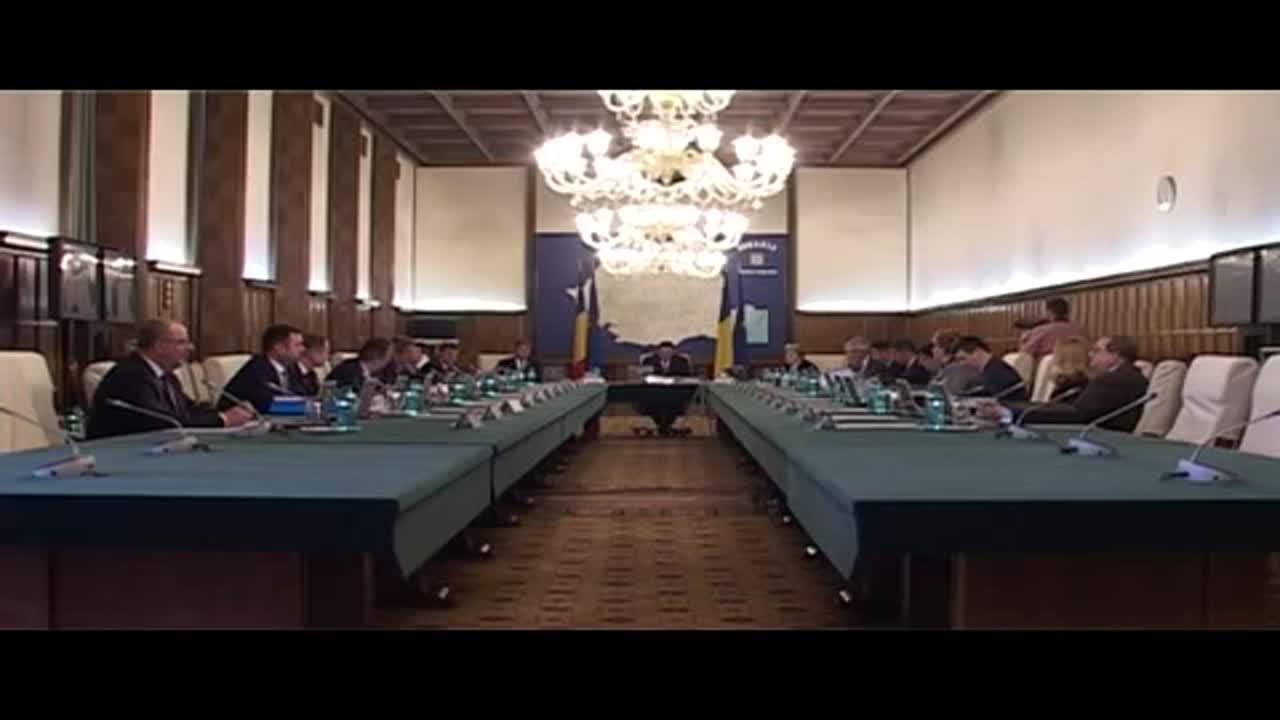 Ședința Guvernului României din 22 aprilie 2015 (imagini protocolare)
