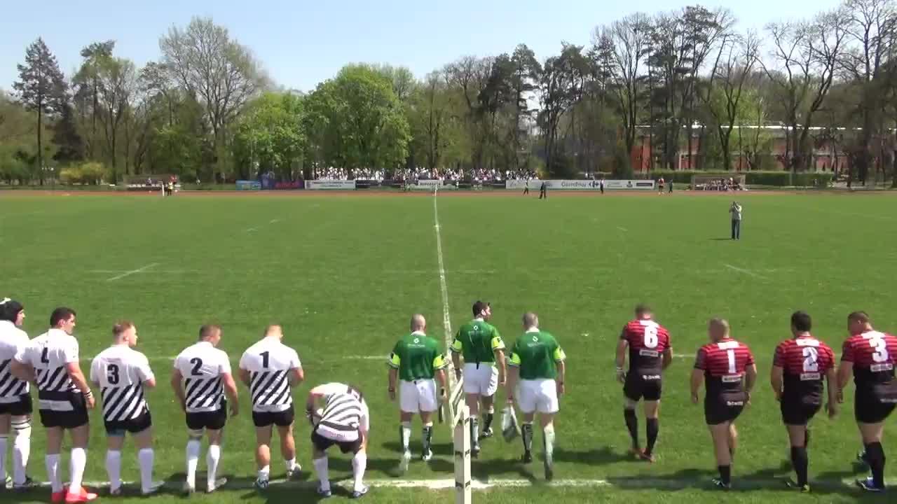 Meciul de Rugby între U Cluj - Timișoara Saracens RCM-UVT