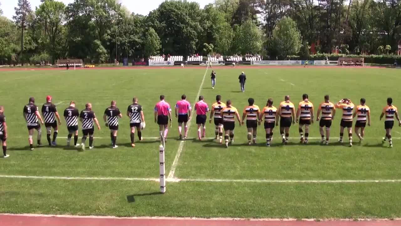 Meciul de Rugby între U Cluj - CSM Olimpia București