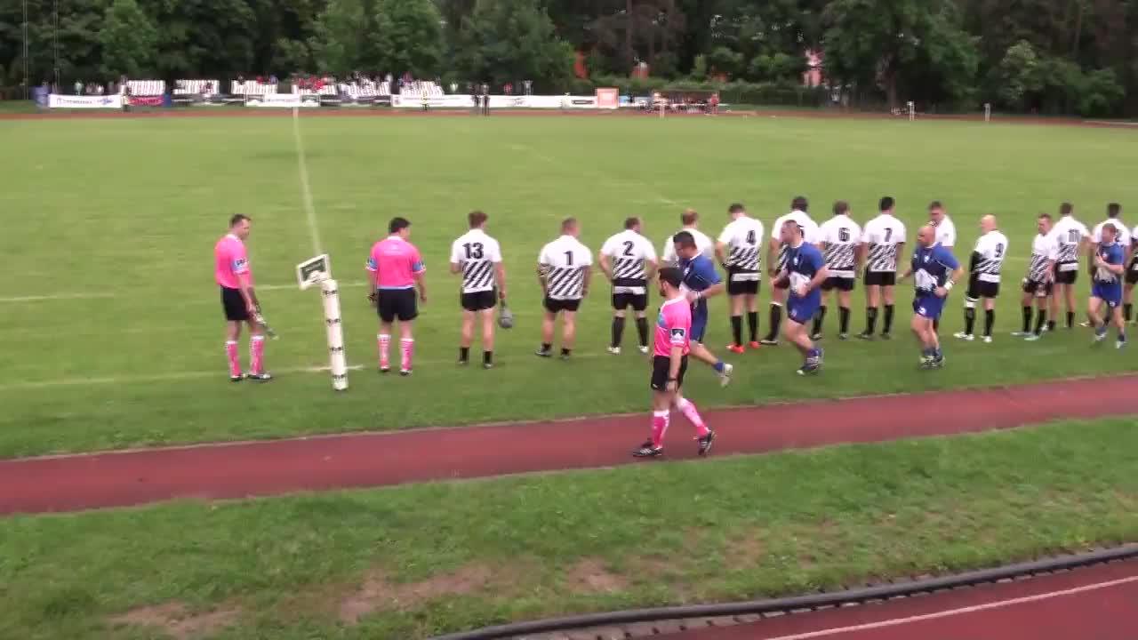 Meciul de Rugby între U Cluj - CSM Știința Baia Mare