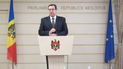 Declarațiile lui Marian Lupu după ședința Parlamentului din 31 iulie 2015