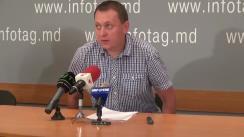 """Conferință de presă susținută de președintele Partidului """"Casa noastră - Moldova"""" (Blocul Roșu), Grigore Petrenco, cu tema """"Noi scumpiri - noi proteste!"""""""