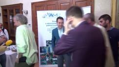 Conferință de presă susținută de președintele Asociației Municipiilor din România, Robert Sorin Negoiță, privind salarizarea unitară a personalului plătit din fonduri publice