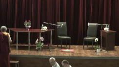 """Evenimentul """"Viziunea buddhistă asupra suferinței și remediului ei"""", cu Gonsar Tulku Rinpoche"""
