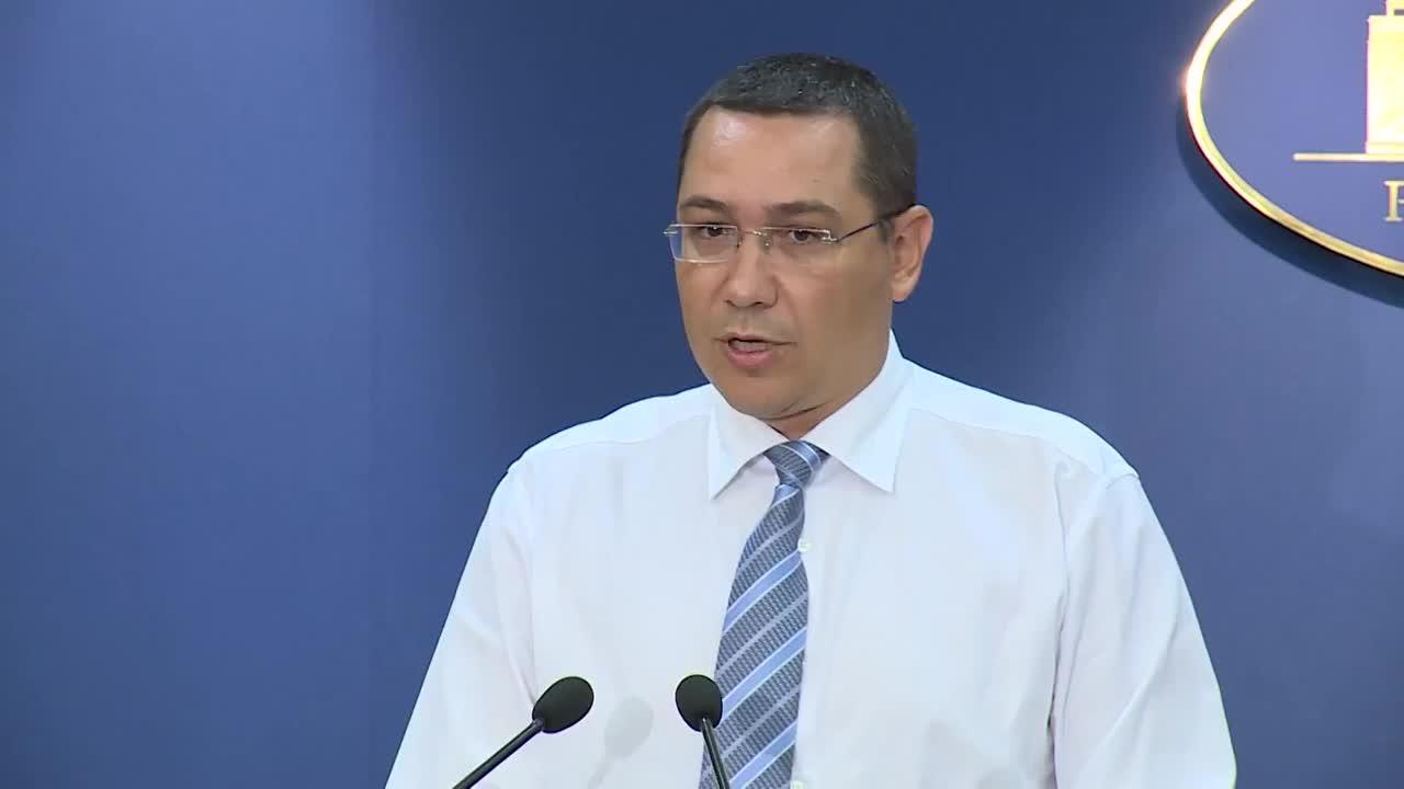 Declarație susținută de prim-ministrul României, Victor Ponta, privind majorarea salariilor personalului sanitar