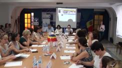 Conferință de lansare a nivelului C1 de însușire a limbii române pentru specialiștii din sectorul bugetar