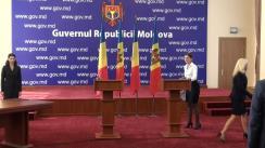 Conferință de presă susținută de prim-ministrul Republicii Moldova, Valeriu Streleț, și prim-ministrul României, Victor Ponta