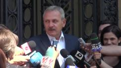 Declarațiile lui Liviu Dragnea după ședința coaliției de guvernare din 1 septembrie 2015