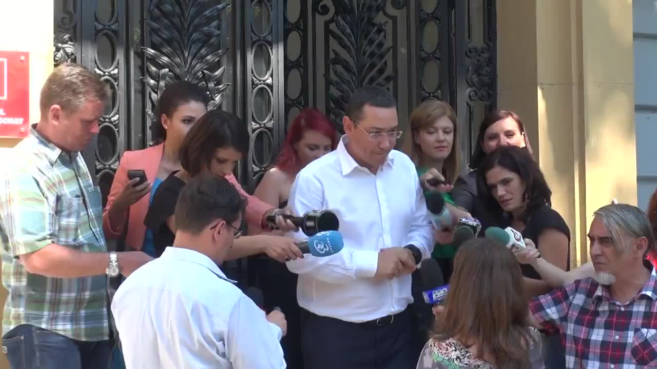 Declarațiile lui Victor Ponta după ședința coaliției de guvernare din 1 septembrie 2015