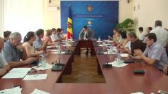Ședința Grupului de lucru pentru reglementarea activității de întreprinzător din 2 septembrie 2015