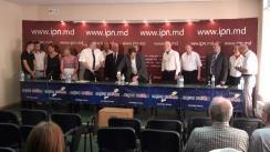"""Conferința de presă cu tema """"Marea Adunare Națională – punct culminat. Moldova Independentă sau Moldova capturată? Decizia aparține poporului"""""""