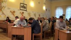 Ședința săptămânală a serviciilor primăriei Chișinău din 7 septembrie 2015