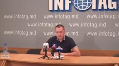 """Conferință de presă susținută de președintele Partidului """"Casa noastră - Moldova"""" (Blocul Roșu), Grigore Petrenco, cu tema """"Mobilizarea populară pentru a participa la acțiunile de protest din 6 septembrie continuă. Regimul e în agonie!"""""""