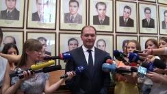 Declarațiile lui Ion Ceban înainte de ședința Consiliului Municipal Chișinău din 3 septembrie 2015