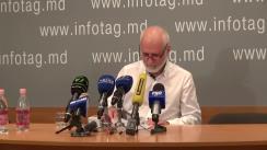 """Conferință de presă cu tema """"Apelul deputaților din primul Parlament cu prilejul Marii Adunări Naționale din 6 septembrie"""""""