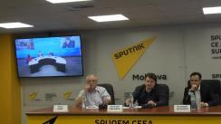 """Conferința video Chișinău-Moscova cu tema """"Cui îi este convenabil să schimbe peisajul politic în Republica Moldova?"""""""