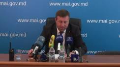 Briefing susținut de ministrul de Interne, Oleg Balan, privind asigurarea ordinii publice la mitingul ce se va desfășura în Piața Marii Adunări Naționale