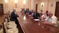 """Întâlnirea reprezentaților Platformei Civice """"Demnitate și Adevăr"""" cu reprezentanții Președinției Republicii Moldova"""
