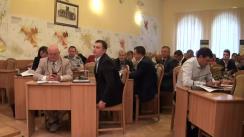 Ședința săptămânală a serviciilor primăriei Chișinău din 14 septembrie 2015