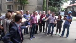 """Declarațiile reprezentaților Platformei Civice """"Demnitate și Adevăr"""" după întâlnirea cu reprezentanții Președinției Republicii Moldova"""