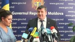 Declarațiile lui Iurie Chirinciuc după ședința Guvernului Republicii Moldova din 9 septembrie 2015