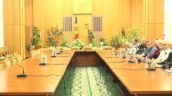 """Întâlnirea reprezentaților Platformei Civice """"Demnitate și Adevăr"""" cu reprezentanții Guvernului Republicii Moldova"""