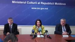 Conferința de presă organizată de Ministerul Culturii privind finanțarea din buget a proiectelor culturale și a proiectelor editoriale pentru anul 2016