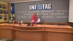 """Conferință de presă susținută de cetățeanca Republicii Moldova, Maria Olar, cu tema """"Ilegalitățile Procuraturii sectorului Ciocana față de cetățeanca Republicii Moldova. Dovezi"""""""