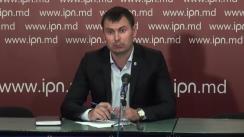 """Conferință de presă organizată de Partidul Democrația Acasă cu tema """"Avertizare publică pentru liderii Plarformei DA"""""""