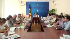 Ședința Grupului de lucru pentru reglementarea activității de întreprinzător din 16 septembrie 2015