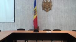 Conferința de presă comună a miniștrilor tineretului și sportului ai Republicii Moldova și României, Loretta Handrabura și Gabriela Szabo
